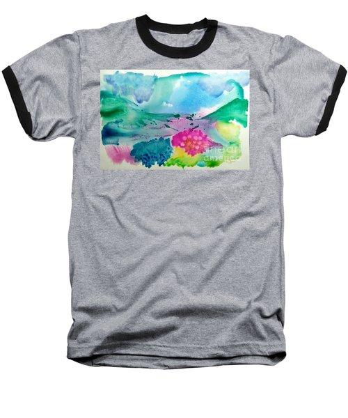 Summer Storm Baseball T-Shirt by Lynda Cookson