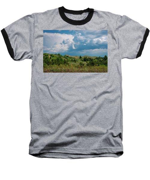 Summer Storm Over The Dunes Baseball T-Shirt