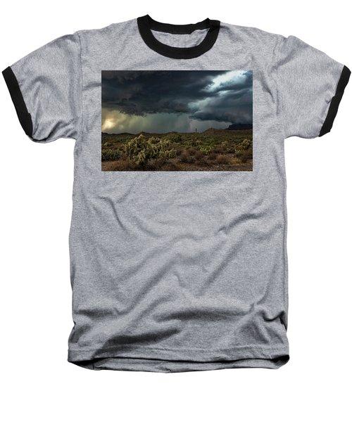 Baseball T-Shirt featuring the photograph Summer Storm  by Saija Lehtonen