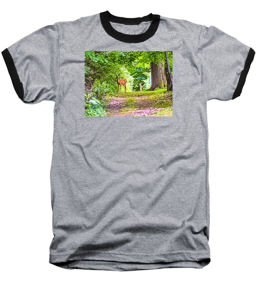 Baseball T-Shirt featuring the photograph Summer Stroll by Anthony Baatz