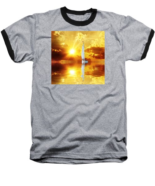 Summer Sun And Fun Baseball T-Shirt