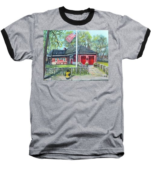 Summer Sunday At E4 Baseball T-Shirt by Rita Brown