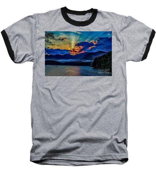 Summer Sundown Baseball T-Shirt