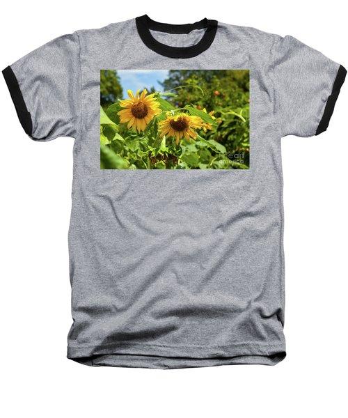 Summer Sunflowers Baseball T-Shirt