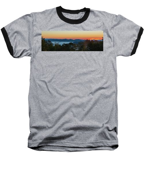 Summer Sunrise - Almost Dawn Baseball T-Shirt