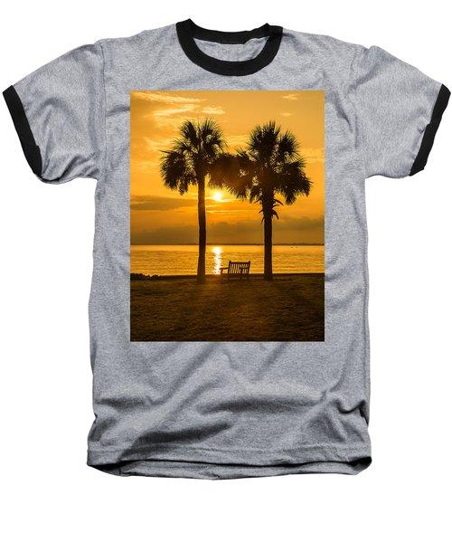 Summer Sunrise - Charleston Sc Baseball T-Shirt