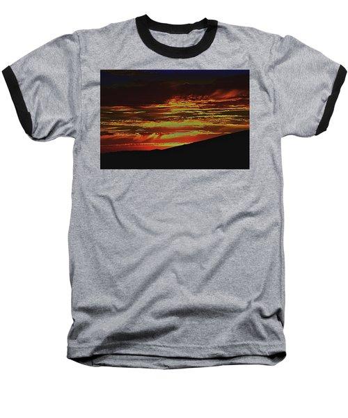 Summer Sunset Rain Baseball T-Shirt