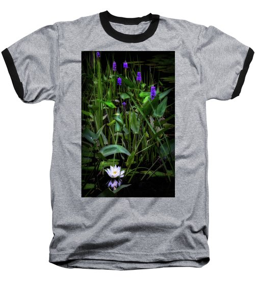 Baseball T-Shirt featuring the photograph Summer Swamp 2017 by Bill Wakeley