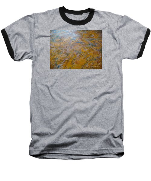 Baseball T-Shirt featuring the painting Summer Time by Fereshteh Stoecklein