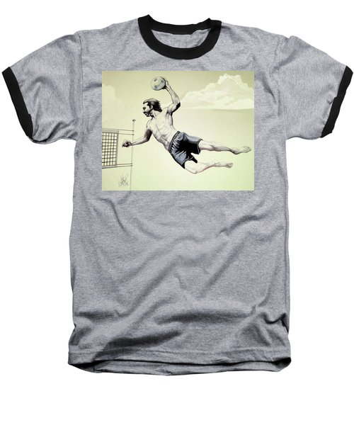 Summer Time Volley Ball Baseball T-Shirt
