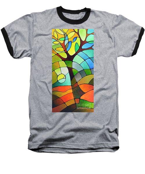 Summer Tree Baseball T-Shirt