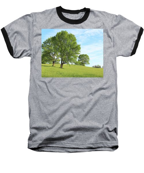 Summer Trees Baseball T-Shirt
