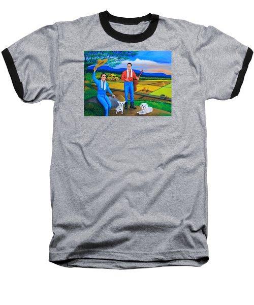 Summer View Baseball T-Shirt by Cyril Maza
