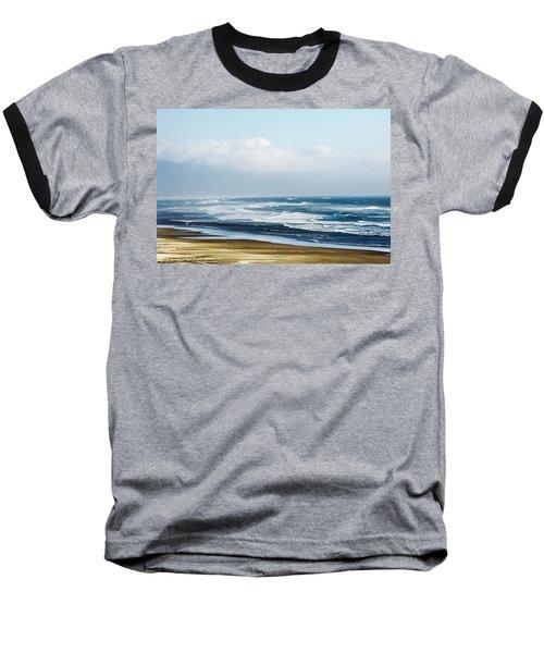 Summer Waves Netarts Oregon Baseball T-Shirt