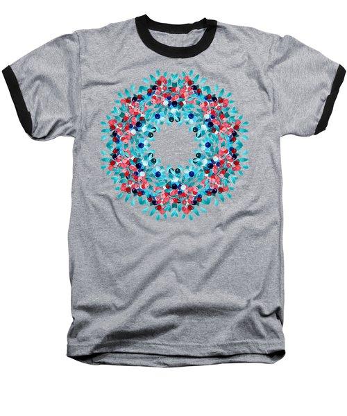 Summer Wreath Baseball T-Shirt