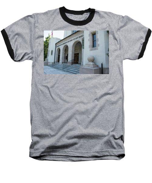 Summerall Chapel II Baseball T-Shirt by Ed Waldrop
