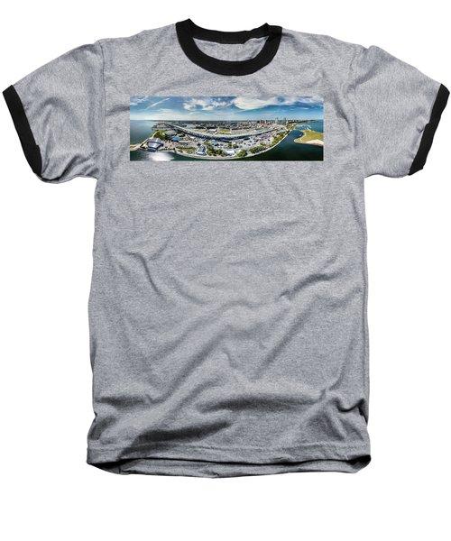 Summerfest Panorama Baseball T-Shirt