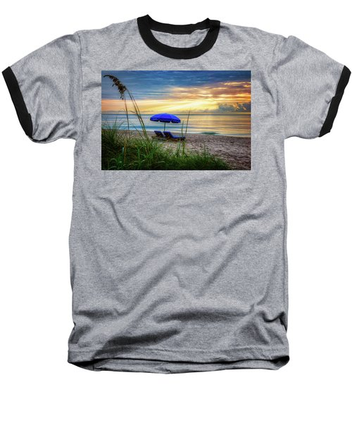 Baseball T-Shirt featuring the photograph Summer's Calling by Debra and Dave Vanderlaan