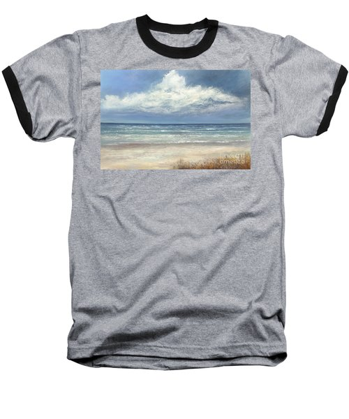 Summer's Day Baseball T-Shirt by Valerie Travers