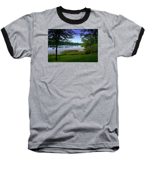 Baseball T-Shirt featuring the photograph Summer's End by Judy  Johnson