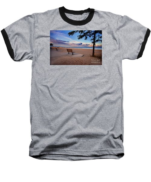 Summers Over Baseball T-Shirt by Randall  Cogle
