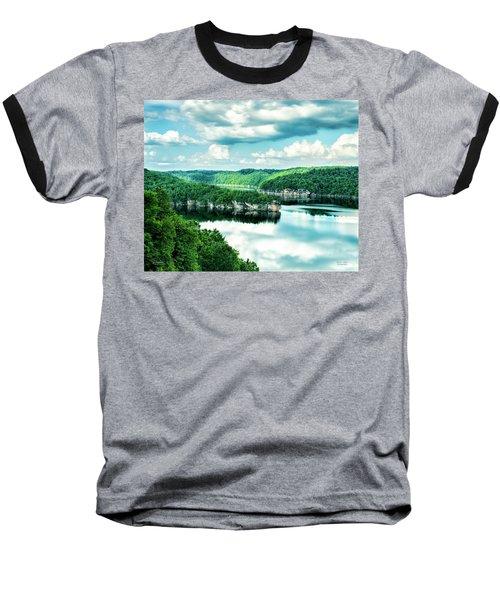 Summertime At Long Point Baseball T-Shirt
