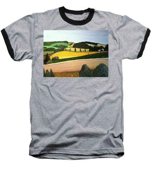 Summertime Baseball T-Shirt by Bill OConnor