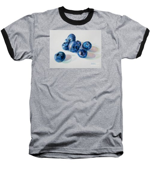 Summertime Blues Baseball T-Shirt