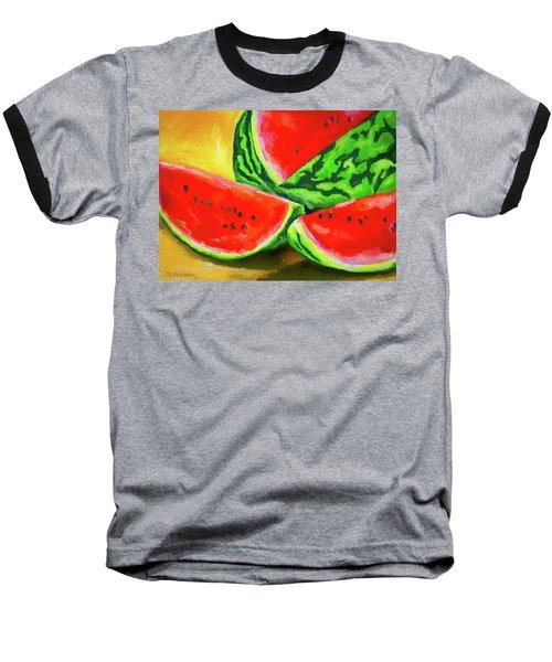 Summertime Delight Baseball T-Shirt