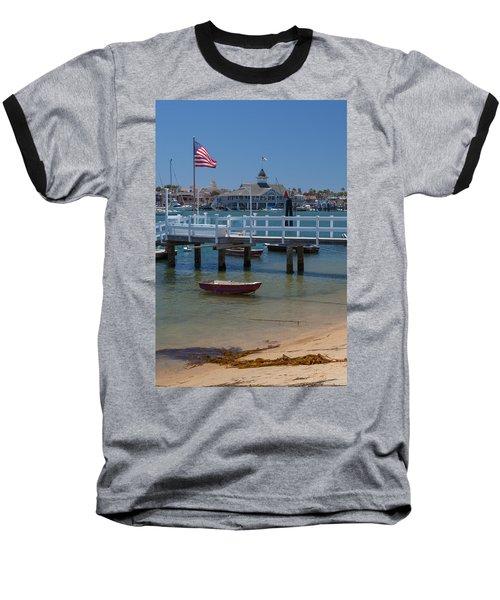 Summertime In  Newport Beach Harbor Baseball T-Shirt