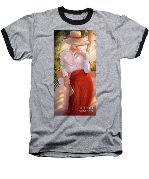 Summertime Baseball T-Shirt by Michael Rock