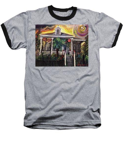 Summertime New Orleans Baseball T-Shirt