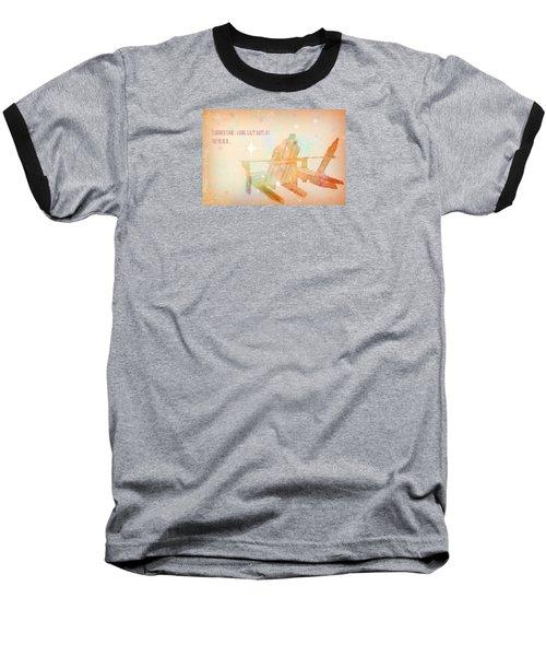 Baseball T-Shirt featuring the photograph Summertime by Robin Regan