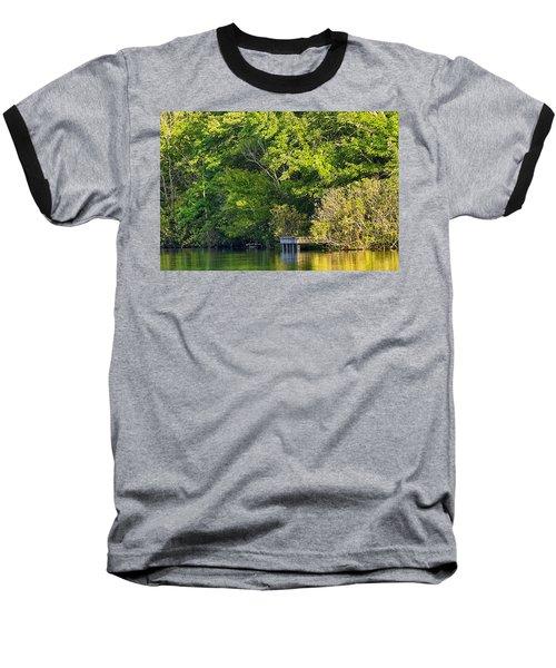 Summertime Baseball T-Shirt by Swank Photography