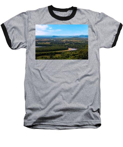 Summit House View Baseball T-Shirt