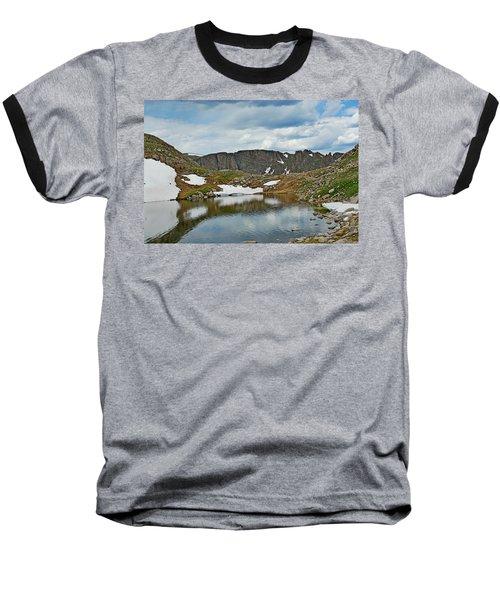 Summit Lake In Summer Baseball T-Shirt