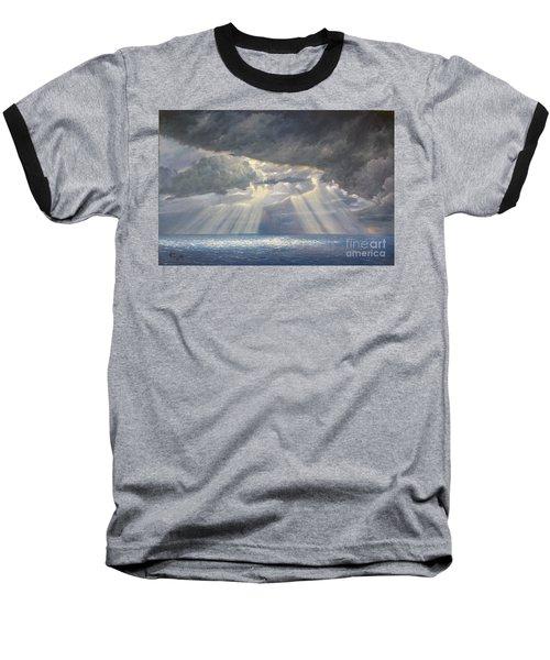 Storm Subsides Baseball T-Shirt