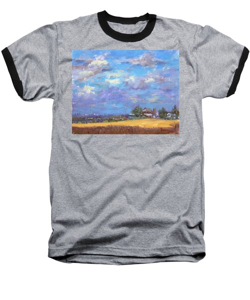 Sun And Clouds Georgetown  Baseball T-Shirt