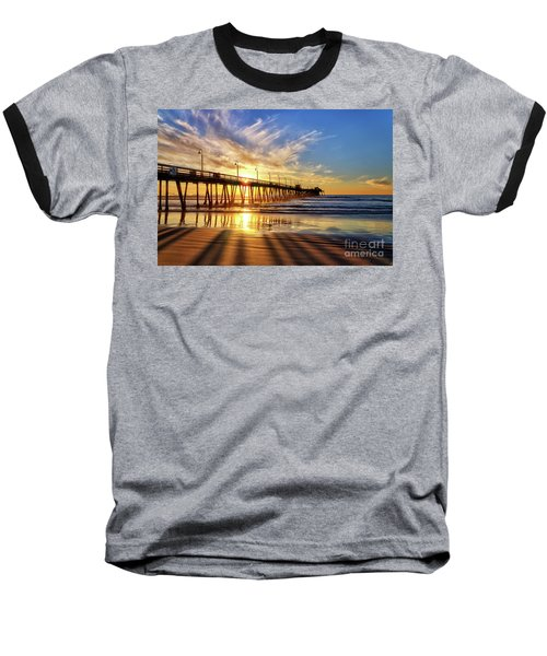 Sun And Shadows Baseball T-Shirt
