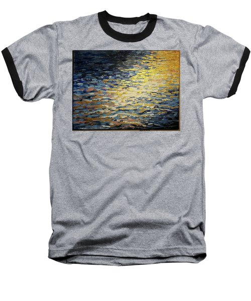 Sun And Wind On Water Baseball T-Shirt