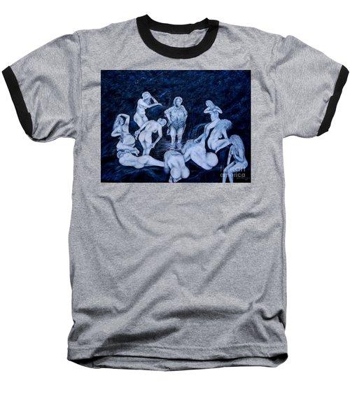 Sun Bath Baseball T-Shirt