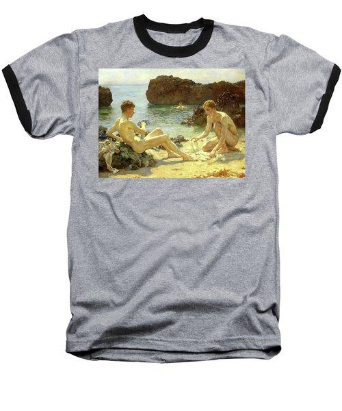 Sun Bathers Baseball T-Shirt
