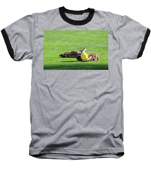 Sun Bathing Baseball T-Shirt