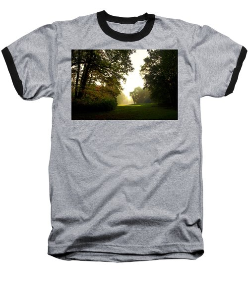Sun Beams In The Distance Baseball T-Shirt