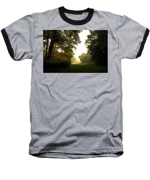Sun Beams In The Distance Baseball T-Shirt