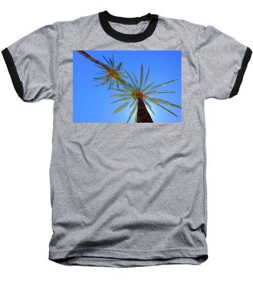 Sun Bed View Baseball T-Shirt