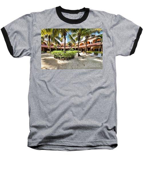 Sun Breeze Hotel Baseball T-Shirt