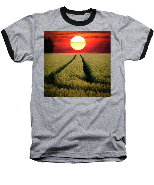 Sun Burn Baseball T-Shirt