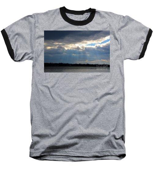Sun Dance On The Delaware River Baseball T-Shirt