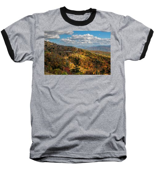 Sun Dappled Mountains Baseball T-Shirt